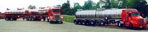 Btrain and quad axle - high volume stainless steel trailers