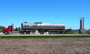 Five axle - aluminum trailer