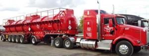 Six axle - fiberglass trailer